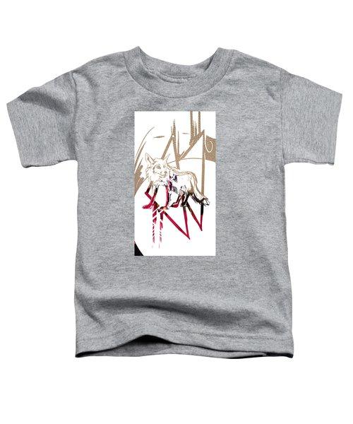 Spirit Animal . Fox Toddler T-Shirt