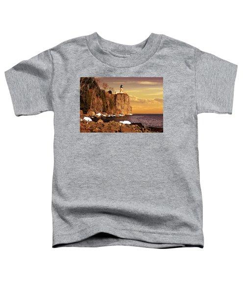 Split Rock Lighthouse Toddler T-Shirt