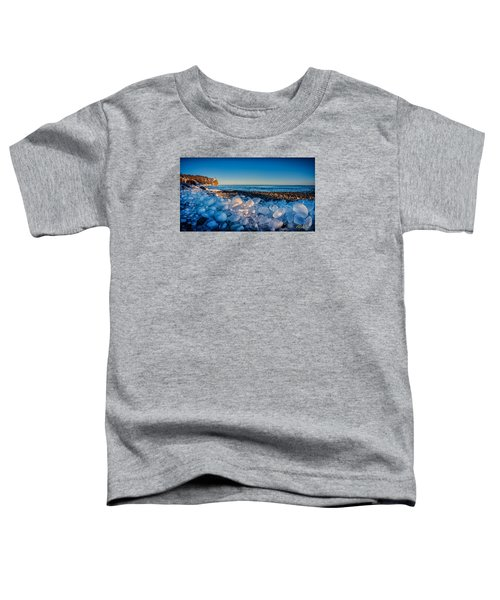 Split Rock Lighthouse With Ice Balls Toddler T-Shirt