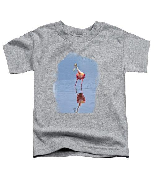 Spoonbill 1 Toddler T-Shirt by John M Bailey