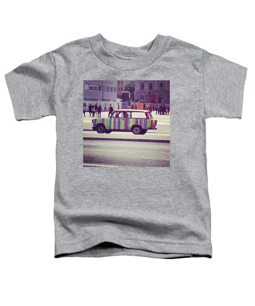 Spotted A Few Of These Doing Tours Toddler T-Shirt