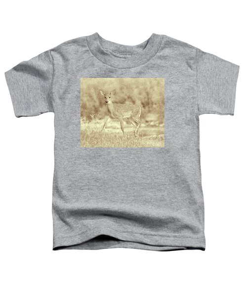 Spotted Fawn Toddler T-Shirt