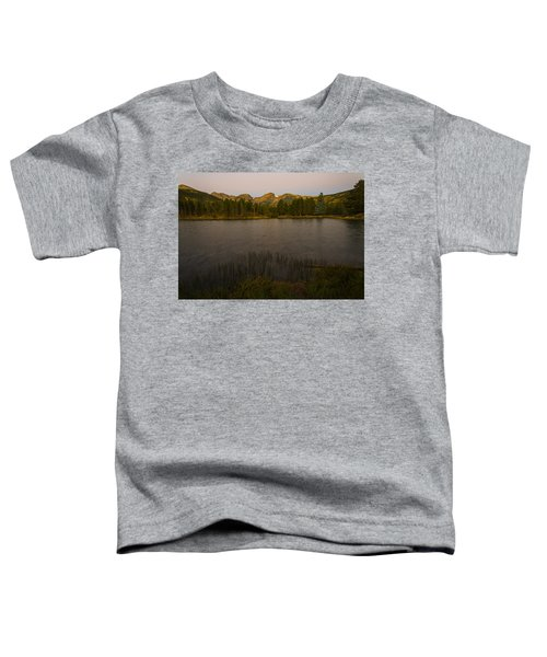 Sprague Lake Toddler T-Shirt by Gary Lengyel