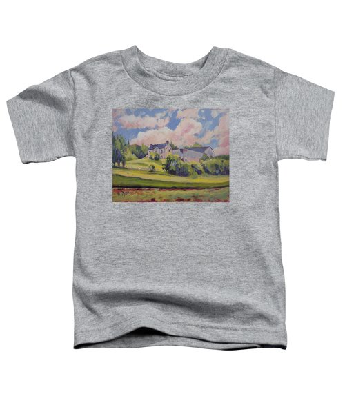 Spring At The Hoeve Zonneberg Maastricht Toddler T-Shirt by Nop Briex