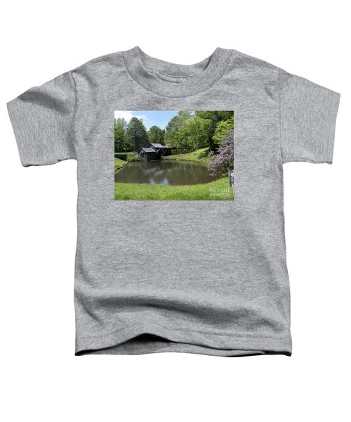 Spring Comes To Mabry Mill Toddler T-Shirt
