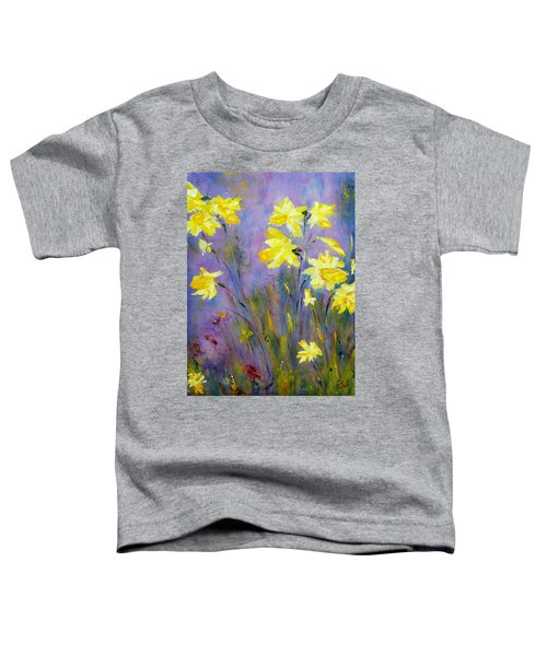 Spring Daffodils Toddler T-Shirt