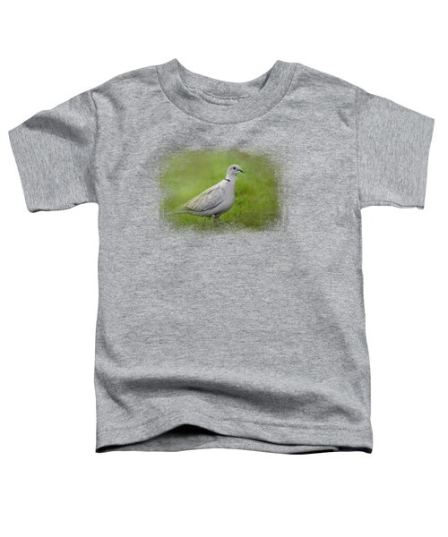 Spring Dove Toddler T-Shirt by Jai Johnson