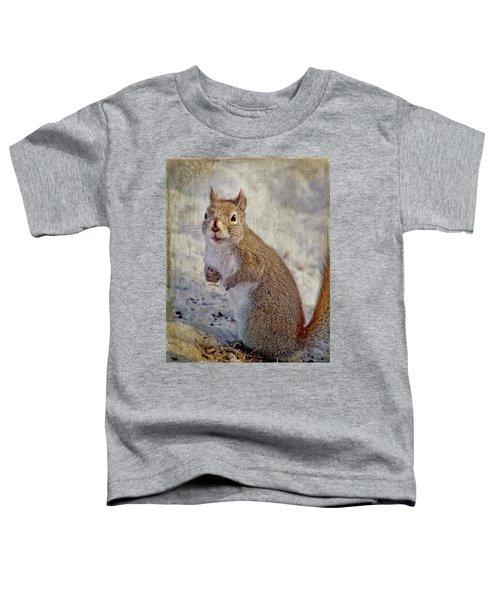 Spring Squirrel Toddler T-Shirt