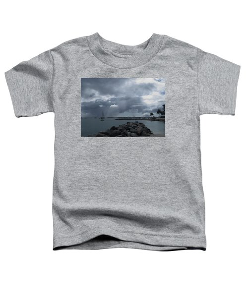 Squall In Simpson Bay St Maarten Toddler T-Shirt
