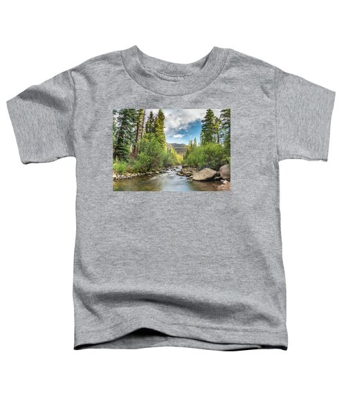 Squaw Creek, Colorado Toddler T-Shirt