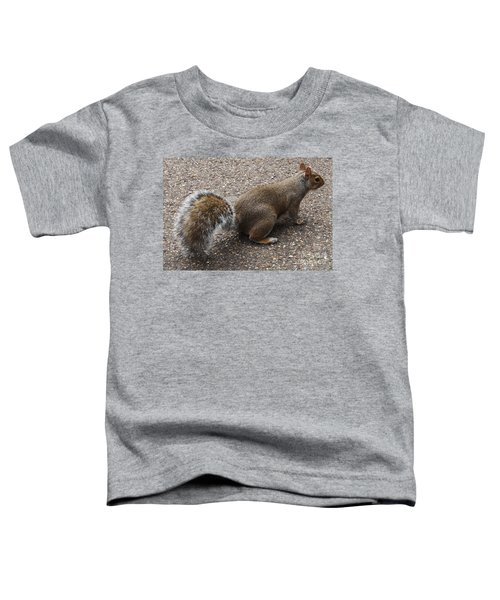 Squirrel Side Toddler T-Shirt