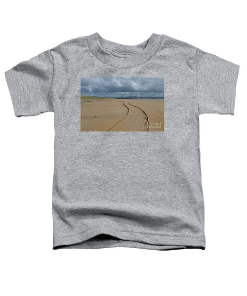 Srah Beach Claggan Island Toddler T-Shirt