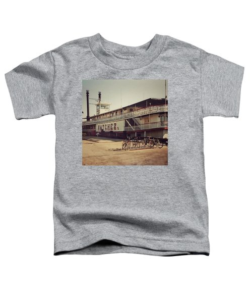Ss Natchez, New Orleans, October 1993 Toddler T-Shirt