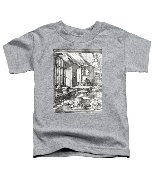 St Jerome In His Study Toddler T-Shirt