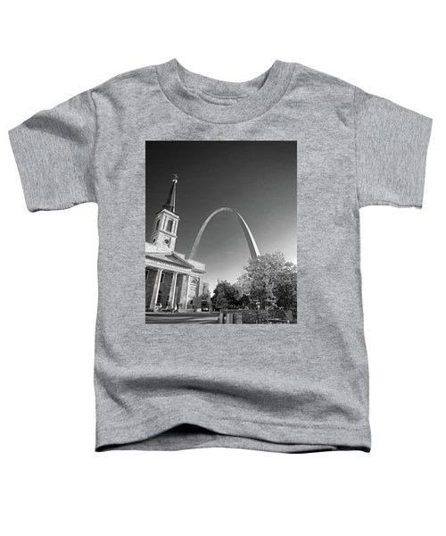 St. Louis Arch Toddler T-Shirt