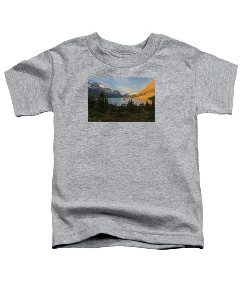 St. Mary Lake Toddler T-Shirt by Gary Lengyel