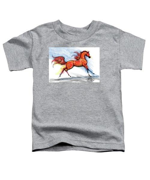 Staceys Arabian Horse Toddler T-Shirt