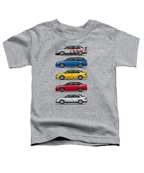 Stack Of Audi A4 B5 Type 8d Toddler T-Shirt