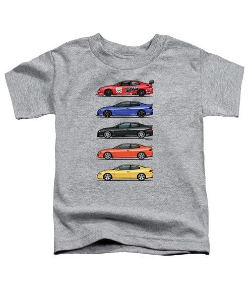 Stack Of Holden Monaros Toddler T-Shirt