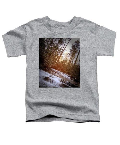 Stair Step Falls Table Rock South Carolina Toddler T-Shirt
