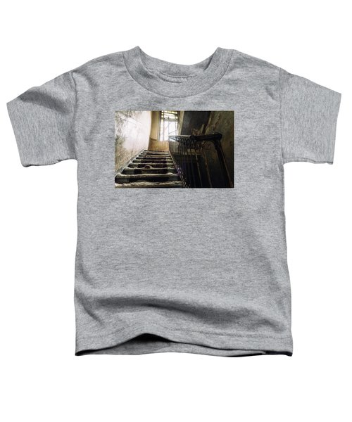 Stairs In Haunted House Toddler T-Shirt