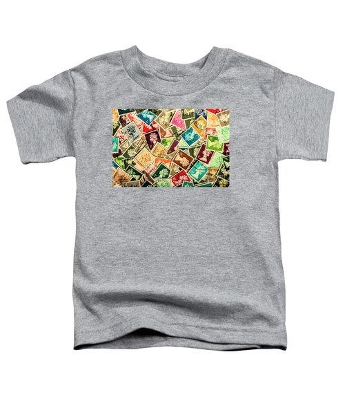 Stamping The Royal Mail Toddler T-Shirt