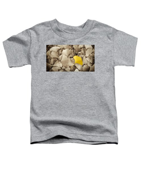 Standing Out In A Crowd Toddler T-Shirt