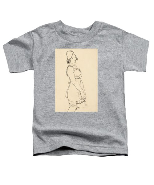 Standing Woman Toddler T-Shirt
