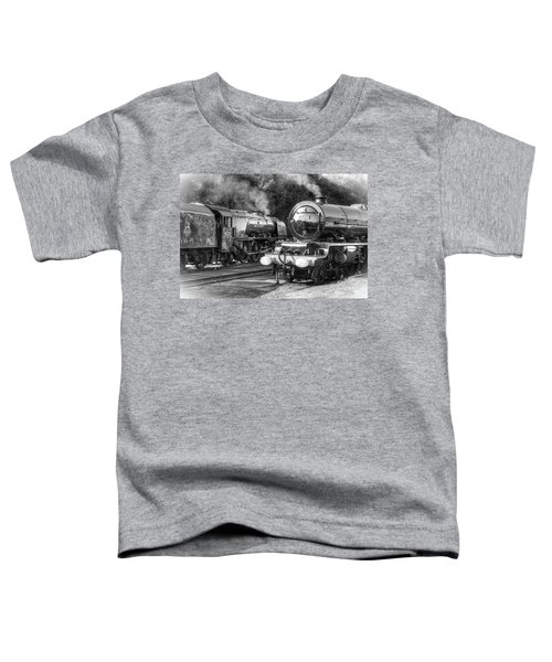 Stanier Pacifics At Swanwick Toddler T-Shirt