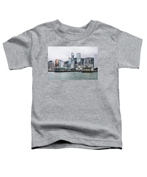Star Ferry Building Terminal In The Central Business District Of Toddler T-Shirt