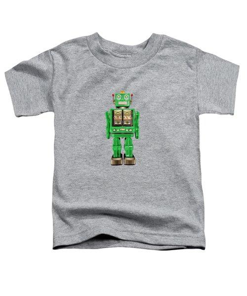 Star Strider Robot Green Toddler T-Shirt