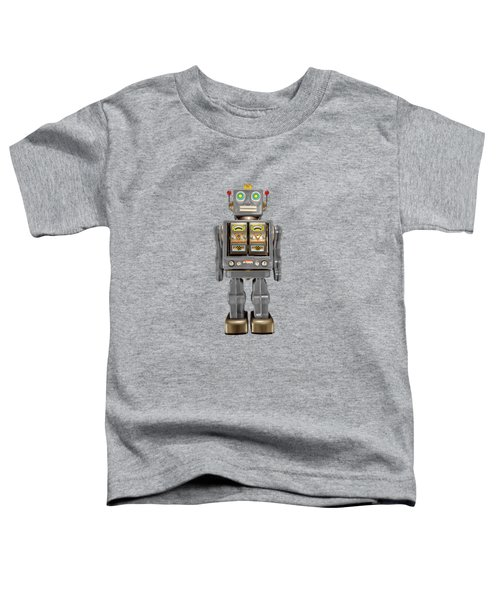 Star Strider Robot Grey Toddler T-Shirt