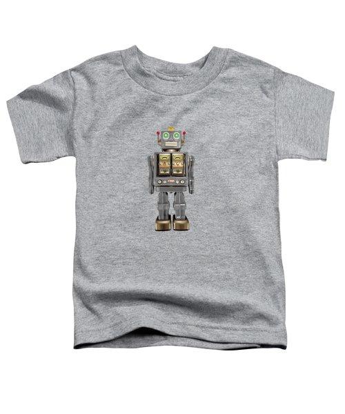 Star Strider Robot Grey Toddler T-Shirt