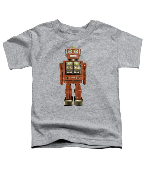 Star Strider Robot Red Toddler T-Shirt