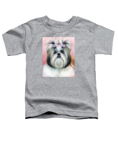Stassi The Tzu Toddler T-Shirt