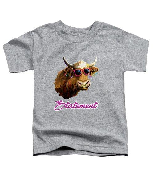 Statement Toddler T-Shirt