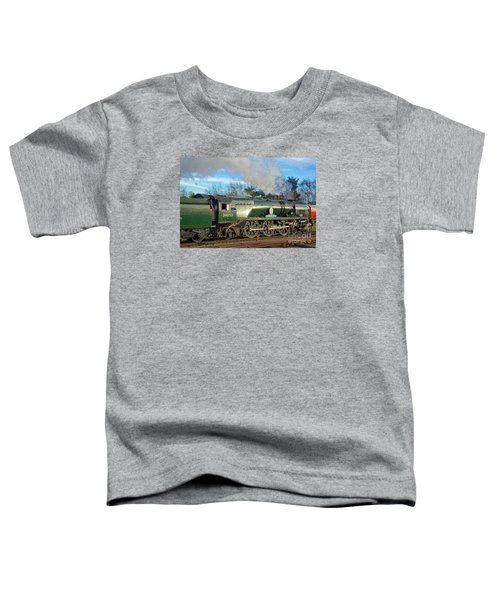 Steam Locomotive Elegance Toddler T-Shirt