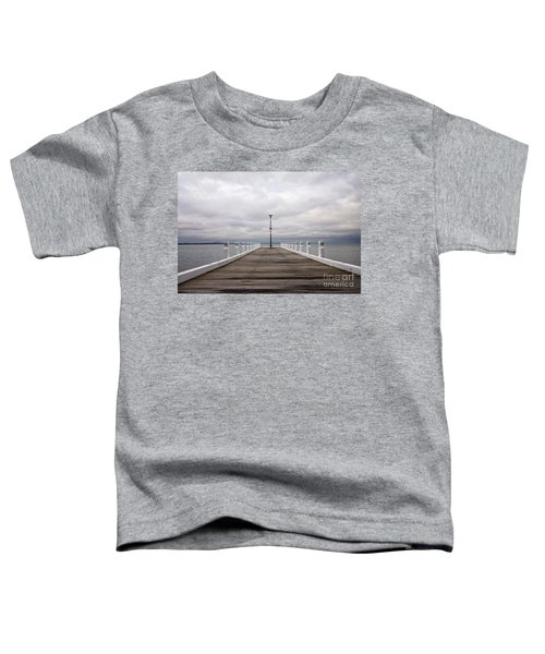 Toddler T-Shirt featuring the photograph Steampacket Quay by Linda Lees