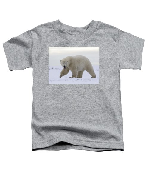 Stepping Out In The Arctic Toddler T-Shirt