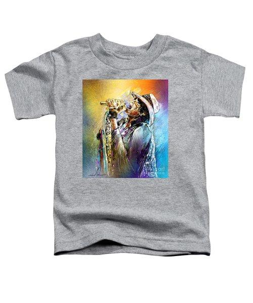 Steven Tyler 01  Aerosmith Toddler T-Shirt