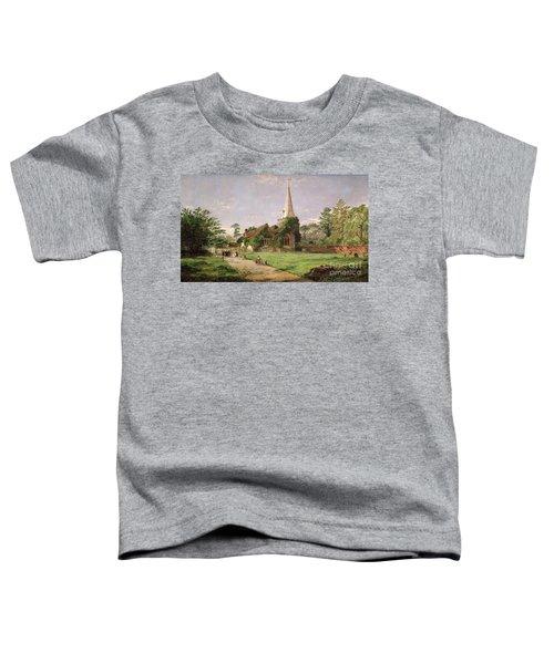 Stoke Poges Church Toddler T-Shirt