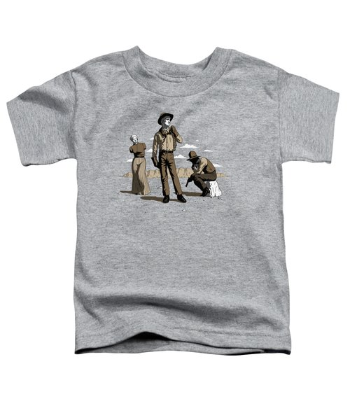 Stone-cold Western Toddler T-Shirt
