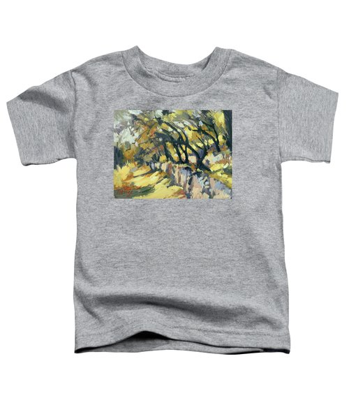 Stone Wall Olive Grove Terrace Toddler T-Shirt