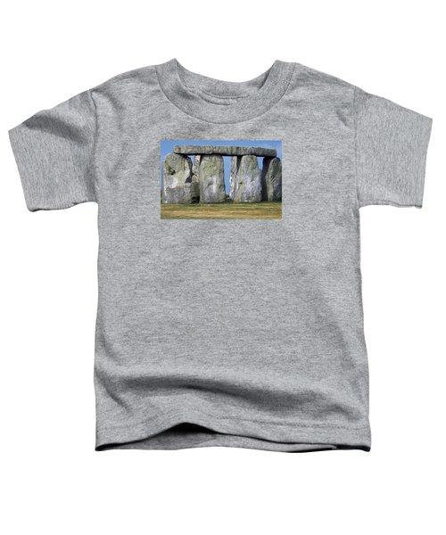 Stonehenge Toddler T-Shirt by Travel Pics