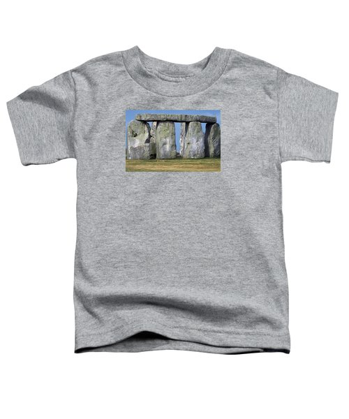 Toddler T-Shirt featuring the photograph Stonehenge by Travel Pics