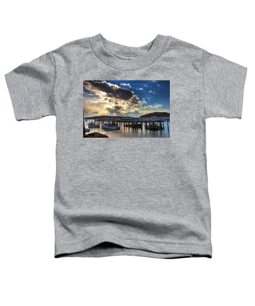 Stonington Lobster Boats Toddler T-Shirt
