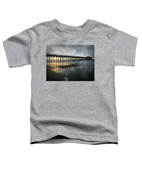 Storm At Sunrise In Color Toddler T-Shirt