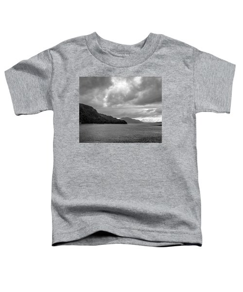 Storm On The Isle Of Skye, Scotland Toddler T-Shirt