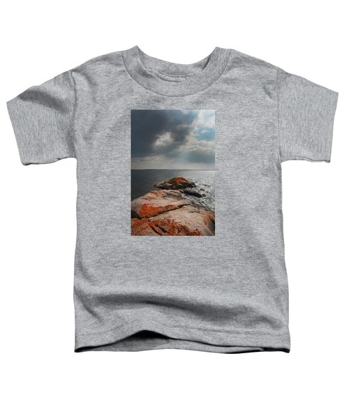 Storm Clouds Over Wall Island Toddler T-Shirt