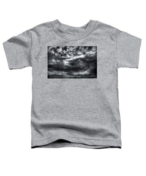 Storm Clouds Ventura Ca Pier Toddler T-Shirt